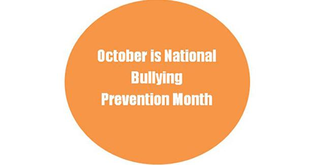 Bullying prevention month sticker