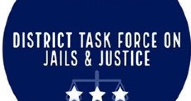 District Task Force on Jails and Justice Task Force Logo