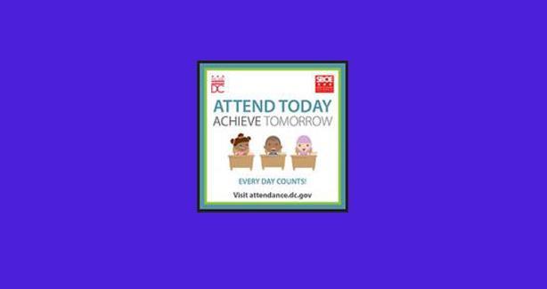 Attendance Awareness Month Logo