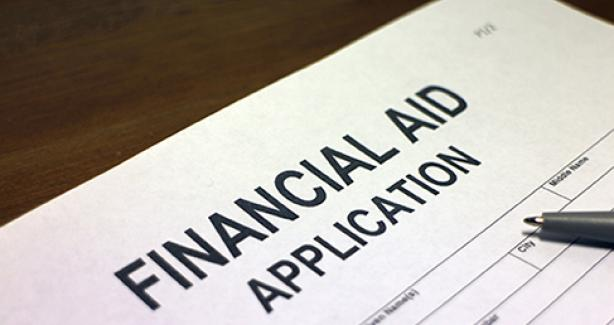 Image to apply for financial assistance