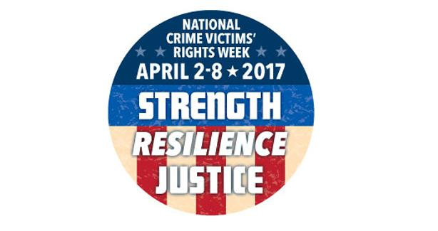 National Crime Victims Rights Week Logo