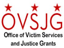 Office Of Victim Services And Justice Grants. Image Of OVSJG Logo