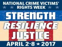 National Crime Victims Rights Week Logo