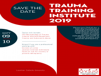 Trauma Training Institute Flyer